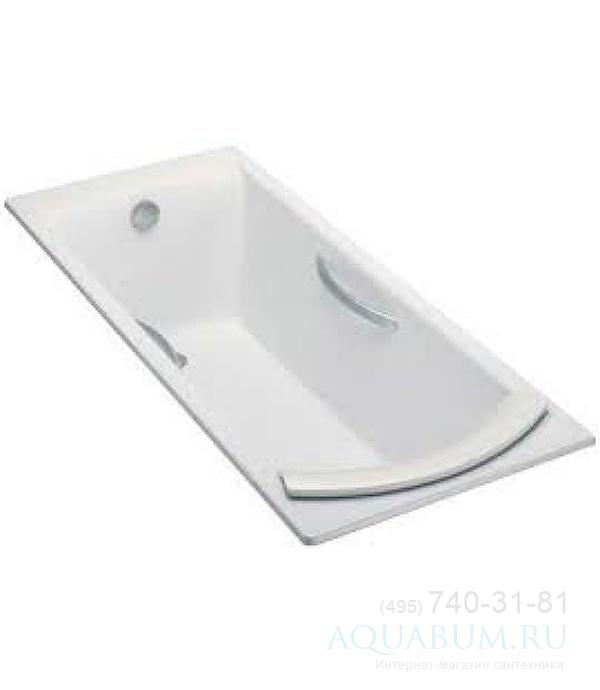 Ванна чугунная Jacob Delafon Biove E2938-00 (170х75 см), объем 196 ...